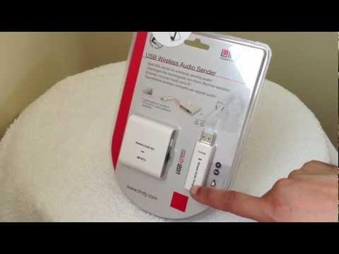 USB Wireless Audio Sender