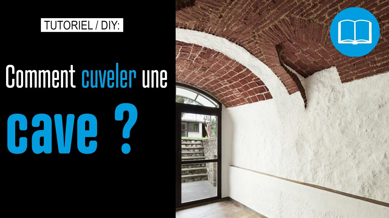 Enduit de cuvelage cave application au rouleau youtube - Enduit de cuvelage ...