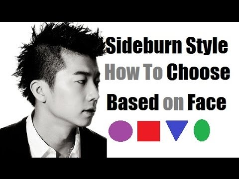 Sideburn Styles How To Choose Best Sideburns Based On