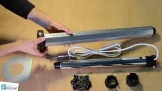Fabrication et pose d 39 un volet en bois tuto brico de robert comment fab - Comment motoriser un volet roulant ...