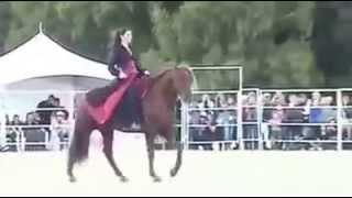 بالفيديو: حصان يراقص فتاة عربية بطريقة أشعلت قلوب الملايين! |