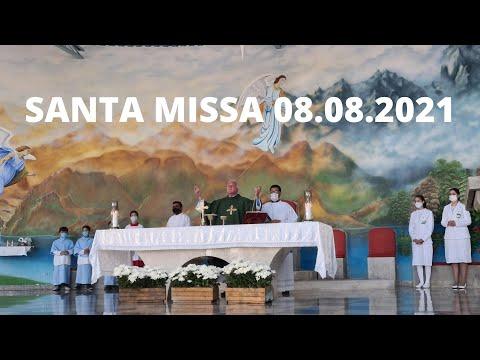 Santa Missa | 08.08.2021 | Domingo | Padre José Alem | ANSPAZ