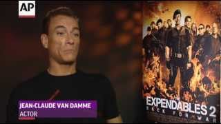 Van Damme's Shy Appearance on 'Expendables' Set