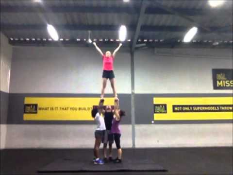 Cheer Dubai Stunt Sequence