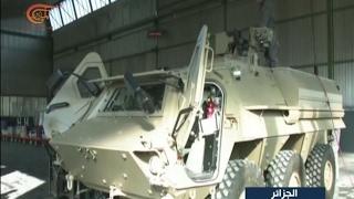 الجزائر تبدأ في تصدير العتاد العسكري