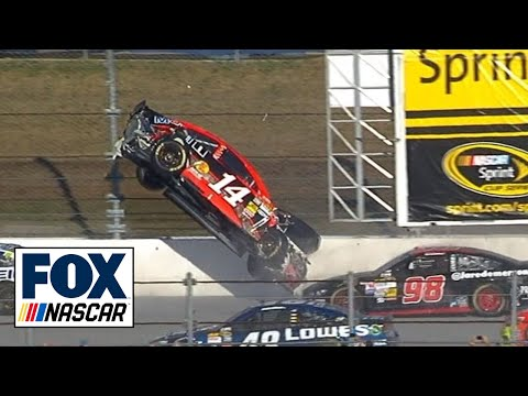 Austin Dillon Launched Into Air at Talladega - 2013