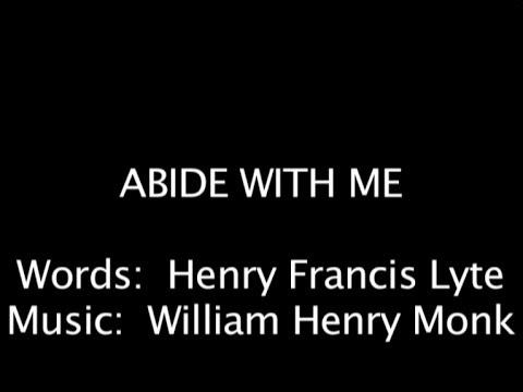 abide with me lyrics pdf