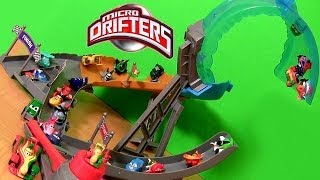 Micro Drifters Air Dare Loop Track Playset Pixar Cars Rip
