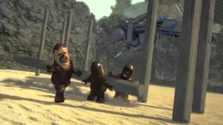 Lego Star Wars - ATAT vs Droidgunship