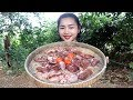 Awesome Cooking Fry Chicken Ovary Liver Delicious Recipe Cook Chicken Village Food Factory