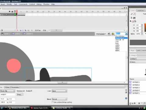 Macromedia Flash CS3 Tutorial 3: Making the character attack and making an enemy