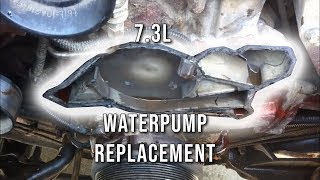 7.3L PSD How To: Replace Water Pump
