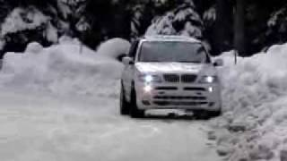 BMW X5 SNOW DRIFT TEST videos
