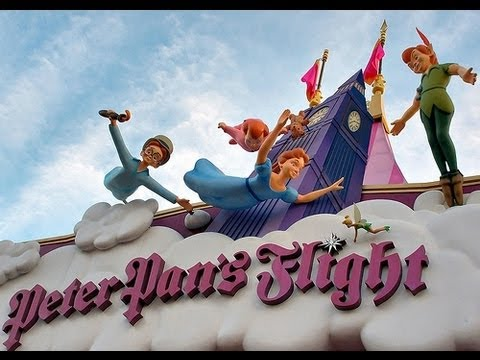 Peter Pan's Flight Full Ride Magic Kingdom Walt Disney World HD POV