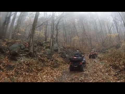 Windrock ATV Club Ride To Militia Hill Part 2,  11-16-2013