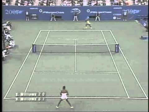 2001 US Open Serena VS Venus Women`s Final - Tennis Express