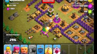 Clash Of Clans Level 48 Megamansion