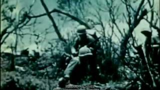 1945 Just Declassified!  6th Marine Div. Uncensored Film: Okinawa - 4 of 6