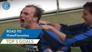 INTER-FIORENTINA | TOP 5 GOALS | Road To