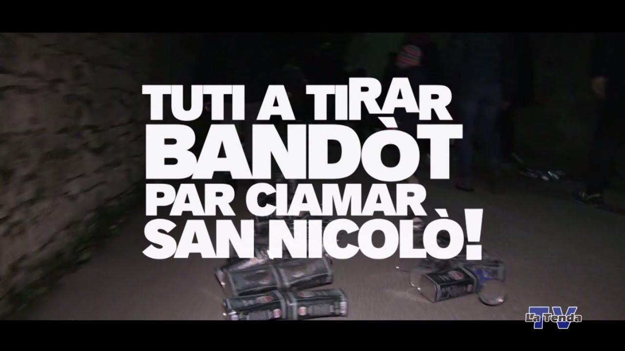 Tuti a tirar Bandòt par ciamar San Nicolò