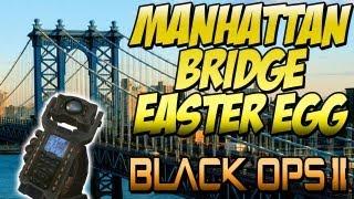 """BO2 """"MANHATTAN BRIDGE"""" Easter Egg On """"DETOUR"""" (Black Ops"""