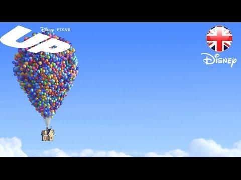 disney pixar up squirrel scenes up video