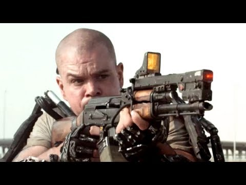 Elysium Trailer 2013 Matt Damon Movie - Official [HD]