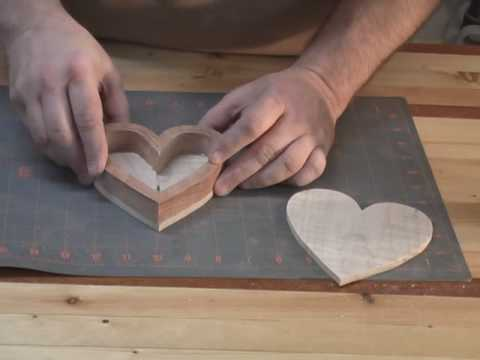 Scroll Saw Heart Box Part 3 Youtube
