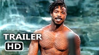 BLACK PANTHER Final New Trailer (2018) Superhero Marvel Move HD