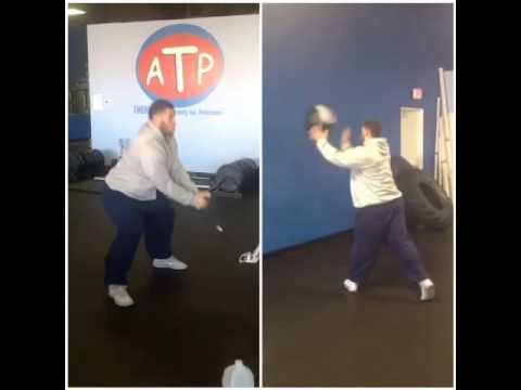Jermelle Kudjo anti rotation hip exercise