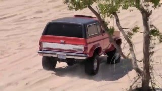 K5 Blazer Bouncing Betty In The Sand Dunes