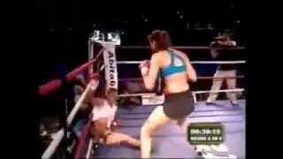 Woman Knockout Man