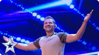 Sascha Williams TOTALLY UNEXPECTED act wows Judges   Auditions Week 1   Britain's Got Talent 2018