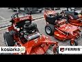 Kosiarki traktory zero turn FERRIS dealer PROSAT pokaz maszyn