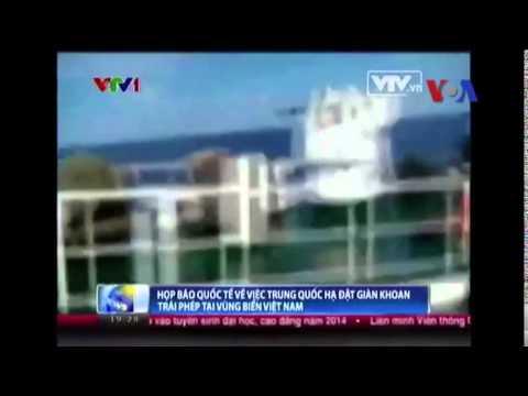 Bắc Kinh: Tàu Việt Nam cố tình đâm tàu Trung Quốc ở Biển Đông