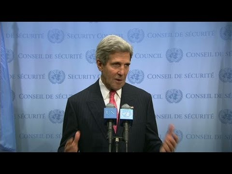 Kerry: Meeting with Iran was constructive