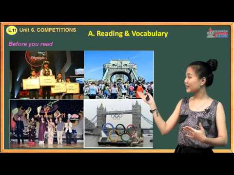 Trắc nghiệm tiếng Anh lớp 11 - Unit 6. Competitions - Reading And Vocabulary