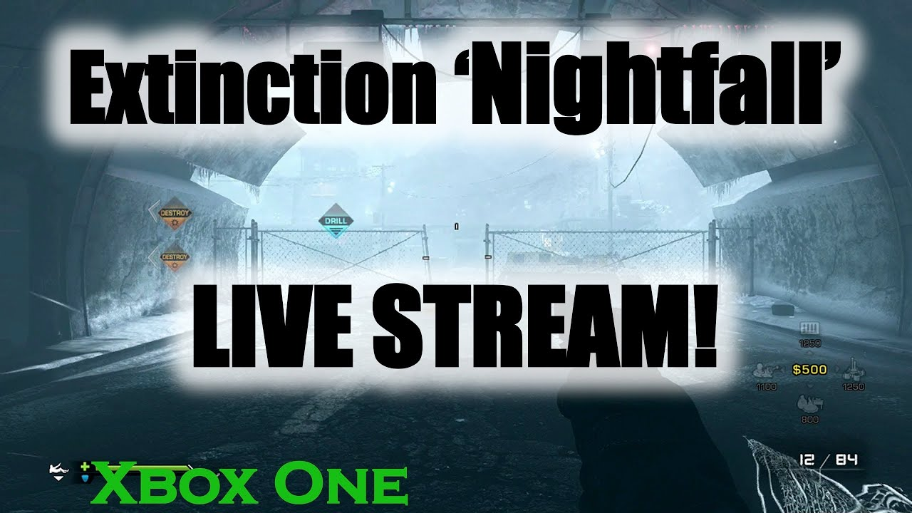 CoD Ghosts Extinction 'Nightfall' LIVE STREAM!! (Xbox One ...
