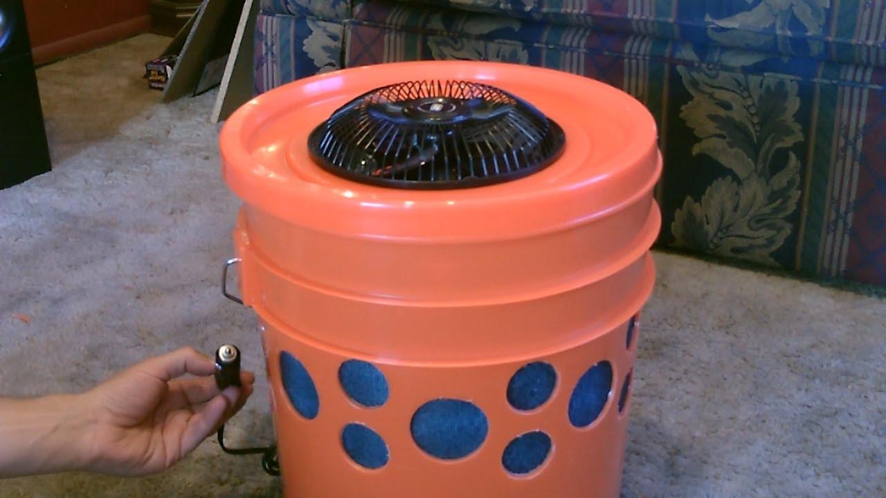 Homemade Evap Air Cooler The 5 Gallon Bucket Swamp