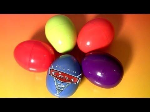 Disney Cars HOLIDAY EDITION Surprise Eggs Matchbox 2007 Diecast Sally Lightning McQueen