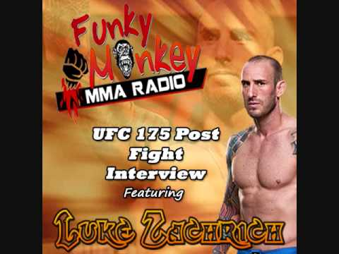 Luke Zachrich UFC 175 Post Fight Interview - Funky Monkey MMA Radio