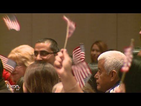 Journey to citizenship: 350 people to become U.S. citizens in Austin Monday