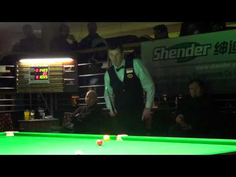 Peter Gilchrist's Winning Moments of 2013 World Billiards Long Up Format