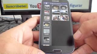 Como Eliminar Varias Fotos En Samsung Galaxy S3 Español