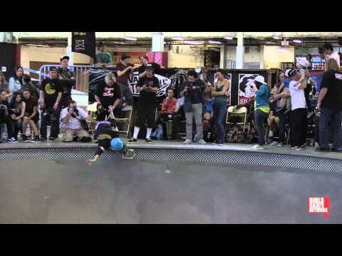 Karen Jonz - Vans Girls Combi Pool Classic 2013