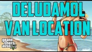 GTA 5 Deludamol Van Location