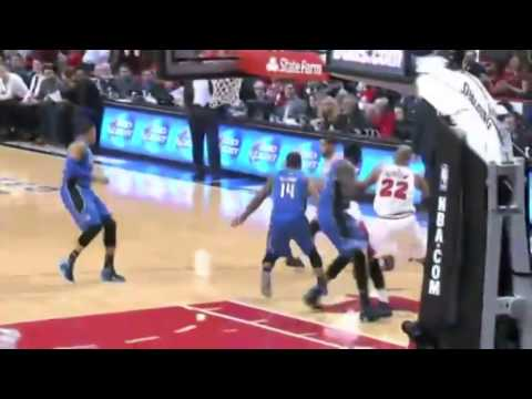 D J  Augustin Bullet Pass to Dunleavy   Magic vs Bulls   December 16  2013   NBA 2013 14 Season