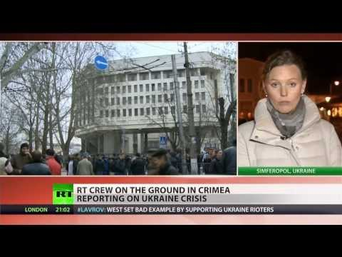Crimean Parliament votes to join Russia