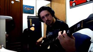 DESECRATED SPHERE José Mantovani - Leaders of Babylon (Bass playthrough )