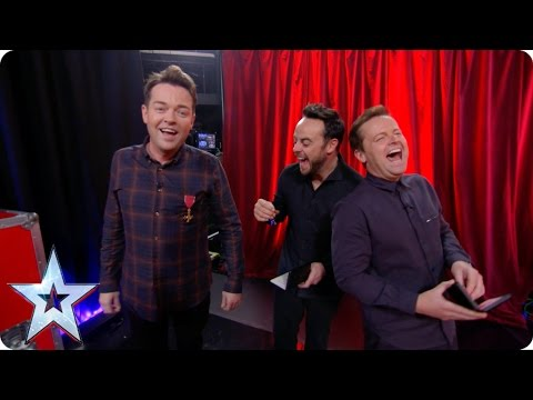 Preview: Meet Lord Stephen Mulhern | Britain's Got More Talent 2017